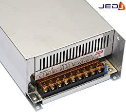 JED Power Supply Driver adapter For CCTv & LED Strip AC110-220V TO DC 12V 40 AMP and 480 watt