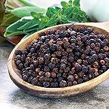 NatureVit Black Pepper - 1 Kg | Black Pepper Whole | Kali Mirch | GOL Mirchi | (Premium Quality)
