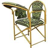 كرسي الصلاة قابل للطي لون أخضر