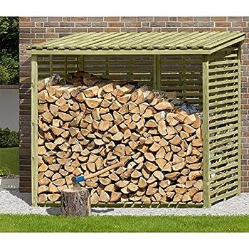 kaminholzregal xxl brennholzregal mit r ckwand f r 3 8 m holz von gartenpirat garten. Black Bedroom Furniture Sets. Home Design Ideas