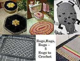 Teppiche, Teppiche, Teppiche – 5 Teppiche zu häkeln