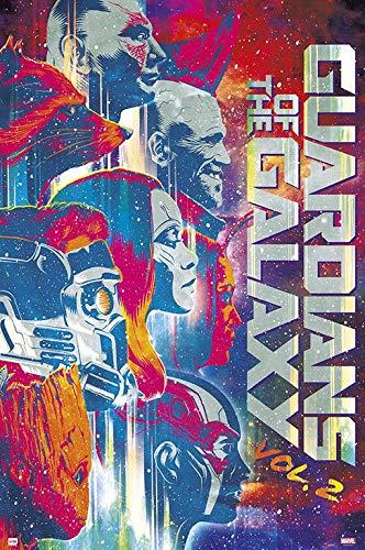 Preisvergleich Produktbild Guardians of the Galaxy Vol.2 Poster Multicolour