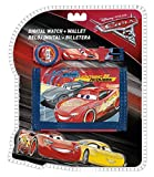 Disney Cars WD17955 Kinder Digital Armbanduhr und Geldbeutel, Lightning McQueen