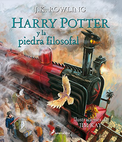 Harry Potter piedra filosofal: 1 Harry Potter Ilustrado