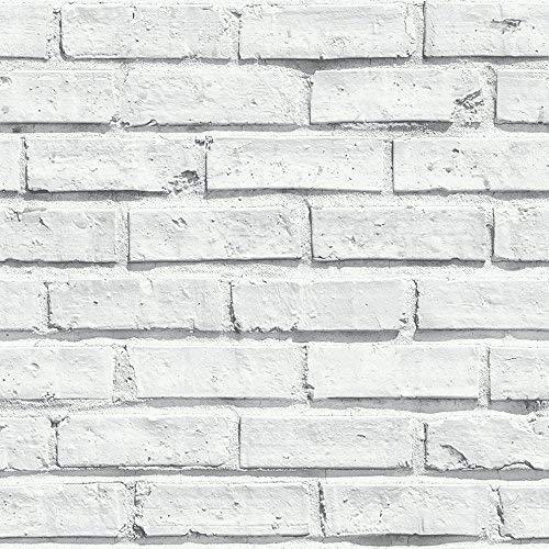 Arthouse - Papel pintado (53 x 10,05 m), color blanco