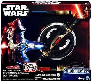 Star Wars Electronic Bladebuilders Battle Spin Lightsaber