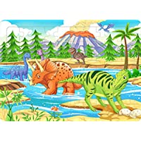 Yobooom Wood Jigsaw Puzzles 60 Pieces for Kids Ages 4-8