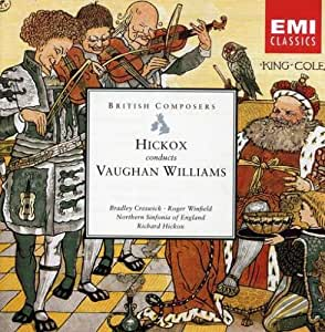 Vaughan Williams: Hickox Conducts, Lark Ascending, Five Mystical Songs, Oboe Concerto