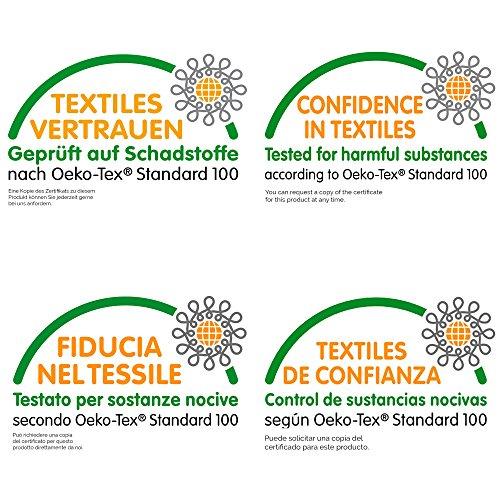 ZOLLNER® Bademantel – Saunamantel mit Schalkragen unisex L weiß 100 % Baumwolle Serie Miami - 3