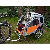 Petego Comfort Wagon M - gefederter Aluminium Hundeanhänger Fahrradanhänger