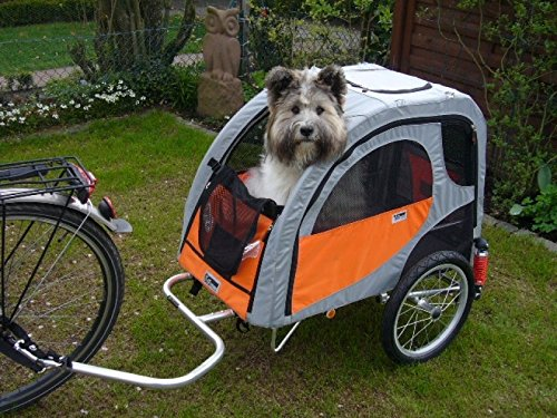 Petego Comfort Wagon M - Hunde Fahrradanhänger