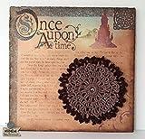 "Lámina decorativa ""Once upon a time"" realizada sobre corcho con mandalas y técnica crochmed*"