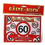 Geburtstag Gästebuch 60 Jahre Verkehrsschild Gäste Buch