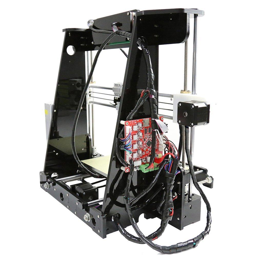 Anet A8impresora 3d soporte Kit de bricolaje material de grandes dimensiones de impresión de Grandes dimensiones 220* 220* 240mm incluye Pla Filament/8G SD carro/Instrumentos