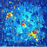 Malerei Gemälde Wandbild Blue