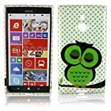 thematys Nokia Lumia 1520 TPU Silikon SÜßE EULE Design