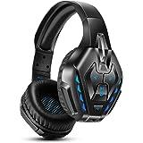 Cuffie Gaming PS4, Cuffie da Gioco Cablate per Xbox One, PC, Cuffie Musicali Wireless Bluetooth con Eliminazione del…