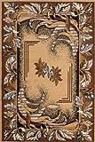 Lalee 347054787 Klassischer Teppich Muster Orient Größe 80 x 250 cm, beige