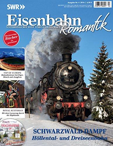 Eisenbahn Romantik Magazin - Unterwegs mit Lust und Leidenschaft - Zug zu den Sternen - Wolkendampf...