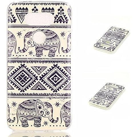 Meet de elefante Caso / copertura / Telefono / sacchetto Per LG G5 PU Pelle Case , LG G5 Custodia / Cover / Cover Shell / Protettiva Caso / Cover / Protezione / Copertura TPU Per LG G5
