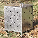 Parasene Steel Incinerator - 80 Litre Capacity with lid