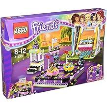 LEGO Friends Parque de atracciones: Coches de choque - juegos de construcción (Chica, Multi)