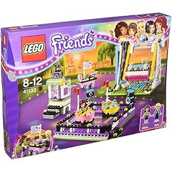 Lego Friends Amusement Park Bumper Cars Construction