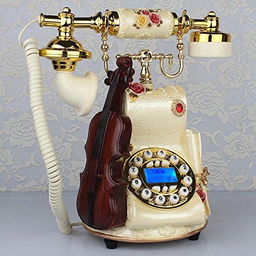 Pastoraltelefon Europäisches Kreatives Retro- Telefon Bürotelefon-Mode-klassisches Überland,Hands-freeBacklight