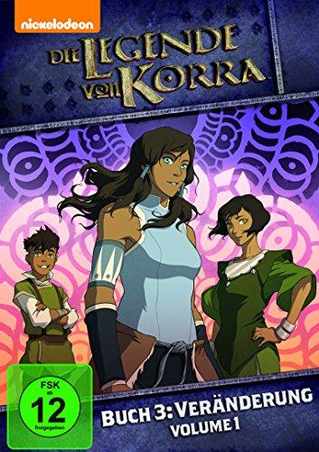 Die Legende von Korra, Buch 3: Veränderung, Volume 1 (Dvd Korra Buch 3)