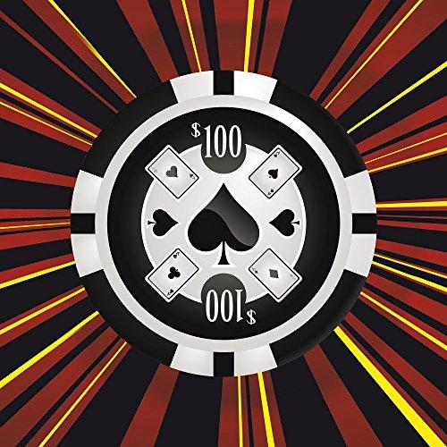 Apple iPhone 5 Case Skin Sticker aus Vinyl-Folie Aufkleber Pik Poker Chip DesignSkins® glänzend