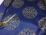 Damast Design Wende Satin Jacquard Vorhang/Craft/Kissen
