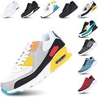 Scarpe Ginnastica Donna Sneakers Uomo Corsa Strada Running All'Aperto Sportive Respirabile Mesh Casual Allacciare…