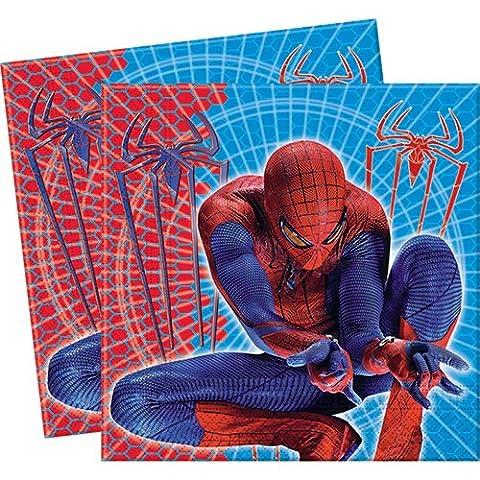 BIGIEMME S.R.L. - 20 serviettes Spiderman AMAZING