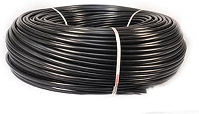 PINOLEX Drip Irrigation Gardener's 16mm Extension Pipe, 50m (Black)