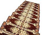 Unbekannt YXX- Haushalts-Treppenbelag-Auflage-Teppich-Feste Holztreppen-Kundenspezifische Kleber-Freie Rutschfeste Teppich-Matte (Farbe : 1 Piece, größe : 30×120m)