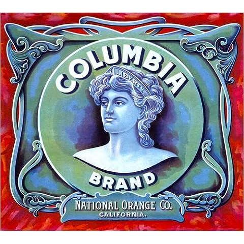 Stampa su legno 90 x 80 cm: columbia brand