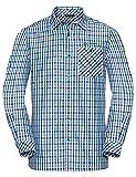Vaude Herren Albsteig LS Shirt Hemd, Radiate Blue, L
