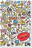 Schülerkalender Social 2018/2019 - Schulplaner, Schülerplaner: Timer mit Flexicover und Spot-Effekt