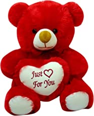 AVS Cute/Lovable Super Soft 1 feet Just for You Small Teddy Bear for Birthday Gift to Girl/Boy/Girlfriend (40 CM,Pink)