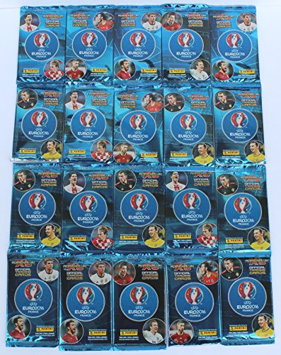 Panini Adrenalyn Euro 2016-20 Booster (120 cartes)