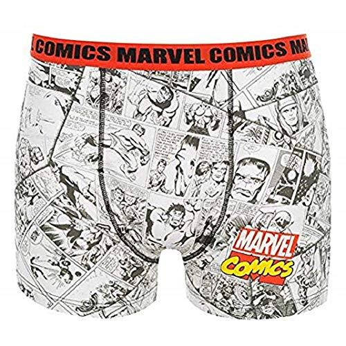 Marvel Hombre M Comics Boxer Shorts Casual Estampa...