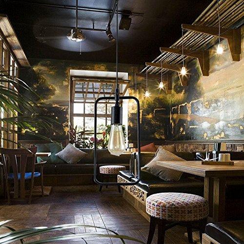 KHSKX Personalità creativa nordico singola vintage Lampadario Lampadario ferro Lampadario industriale vento Café Lounge dispone di un lampadario