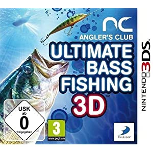 Anglers Club: Ultimate Bass Fishing (Nintendo 3DS) by Namco Bandai