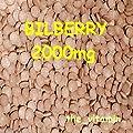 "The Vitamin Bilberry 2000mg 365 Tablets""Eye Health"" ~ Free Postage (L)"