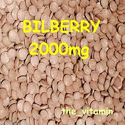 "The Vitamin BILBERRY 2000mg 365 tablets ""Eye Health"" ~ FREE POSTAGE (L) by The Vitamin"