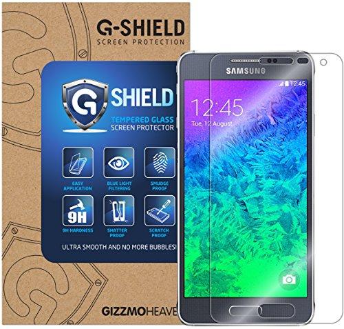 G-Shield Bildschirmschutzfolie für Samsung Galaxy Alpha Hartglas Schutzfolie