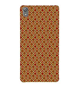 Fuson Designer Back Case Cover for Sony Xperia E5 Dual :: Sony Xperia E5 (Flowers Small flowers Brown Flowers Orange Flowers Red Flowers)