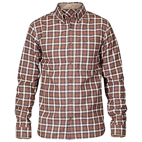 Fjällräven Herren Stig Flannel Shirt Oberhemd Autumn Leaf (215)