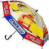alles-meine GmbH Regenschirm -  Disney Cars / Lightning McQueen - Auto - Blau  - Kinderschirm..