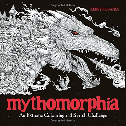 Mythomorphia: An Extreme Colouring and Search Challenge (Colouring Books)